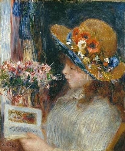 Auguste Renoir: Lesendes Mädchen. 1886