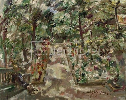 Lovis Corinth: Garten in Berlin-Westend. 1925.