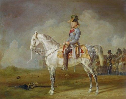 Albrecht Adam: Graf Radetzky zu Pferde.
