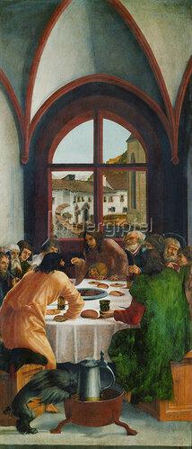 Albrecht Altdorfer: Das letzte Abendmahl.