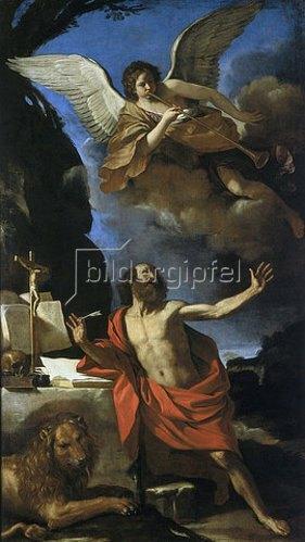 G. Francesco (Guercino) Barbieri: Die Vision des Hl. Hieronymus in der Wüste