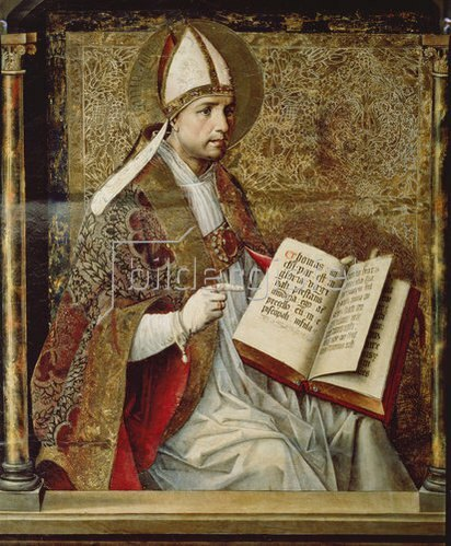 Pedro Berruguete: Der hl. Augustinus. Thomas-Altar im Kloster St.Thomas in