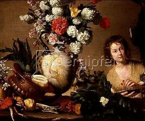 Bernardo (Il Capuccino) Strozzi: Die Gärtnerin. Nach 1630