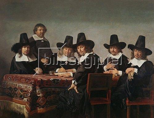 Jan de Bray: Die Regenten des Waisenhauses. 1663