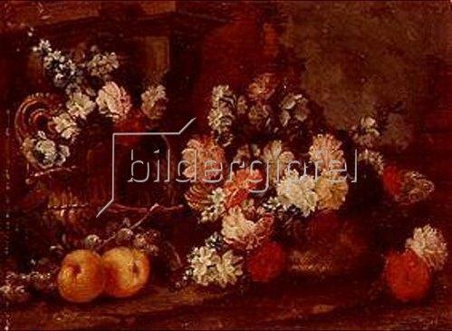 Gabor Stettner: Blumenstilleben. 1779