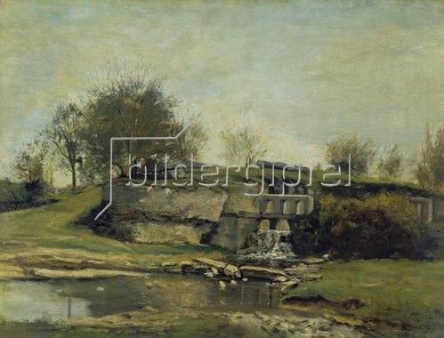Gustave Courbet: Der Steinbruch von Optevoz. 1854(?).