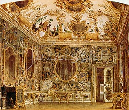 Georg Dehn: Spiegelsaal in der Würzburger Residenz.