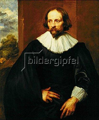 Anthonis van Dyck: Bildnis des Malers Quinten Simon. Um 1634-35