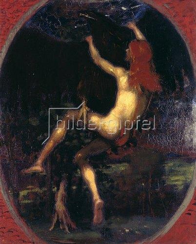 Hans von Marées: Die Entführung des Ganymed. 1887