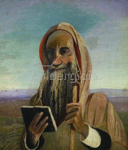 Tivadar Csontváry-Kosztka: Lehrer aus Marokko. 1908.
