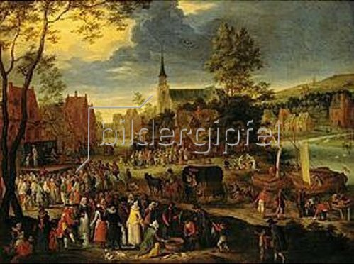 Pieter Gysels: Kirmess.