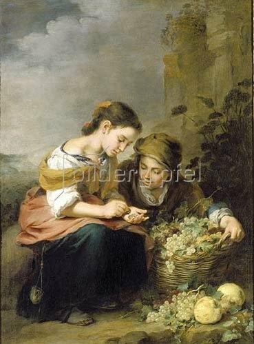 Bartolomé Estéban Murillo: Die kleine Obsthändlerin. Um 1670/75