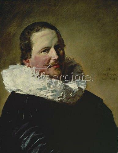 Frans Hals: Bildnis eines 30-jährigen Mannes mit Halskrause. 1633