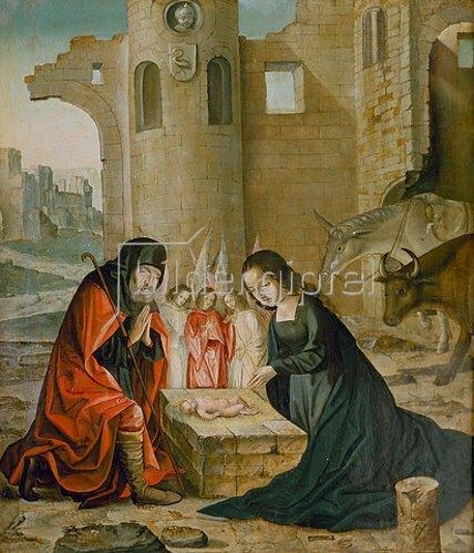 Johann von Flandern: Geburt Christi.