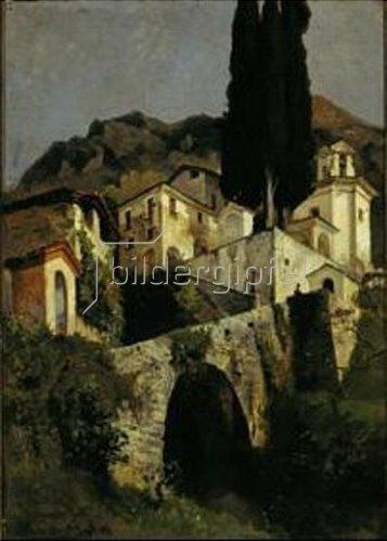 Edmund Friedrich Kanoldt: Sta.Maria della Pace in Nabiello.