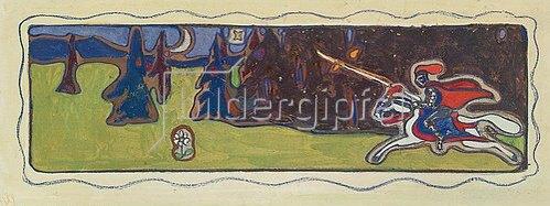 Wassily Kandinsky: Dämmerung. 1901.