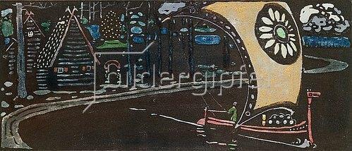 Wassily Kandinsky: Das goldene Segel. 1903.