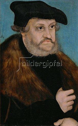 Lucas Cranach d.Ä.: Bildnis Kurfürst Friedrich der Weise