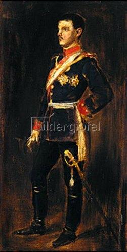 Franz von Lenbach: Prinz Rupprecht von Bayern. 1888.