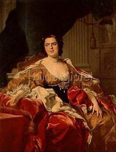 Louis Michael van Loo: Luise Isabel de Francia, Duchessa von Parma.