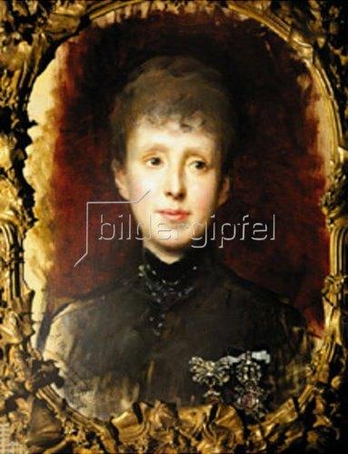 Raimundo de Madrazo y Garreta: Maria Christina von Habsburg. 1887.