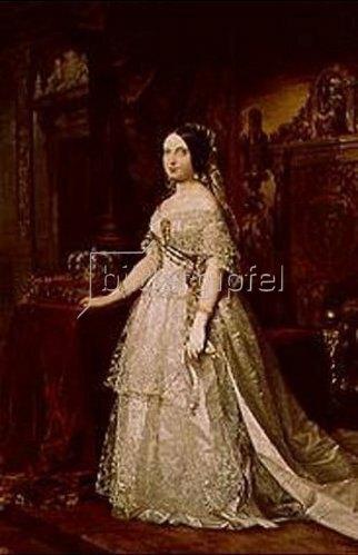 Federico de Madrazo: Isabella II. von Spanien.