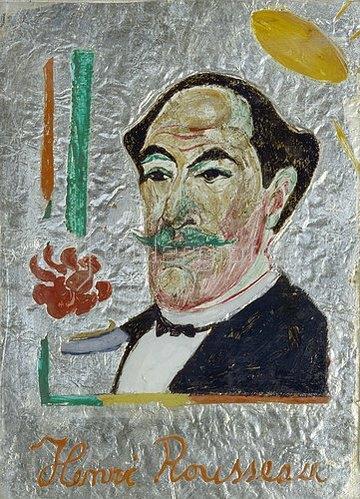 Franz Marc: Bildnis Henri Rousseau. 1911