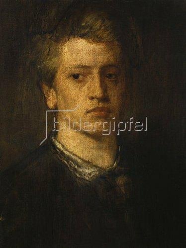 Hans von Marées: Der Bildhauer Adolf von Hildebrand. 1867/68.