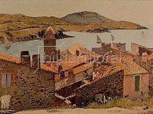 Henri Martin: Rote Dächer (Collioure).