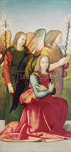 Ridolfo Ghirlandaio: Drei Engel.