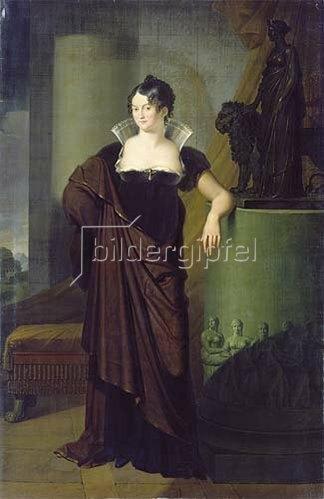 Johann Peter von Langer: Kronprinzessin Therese von Bayern. 1812.