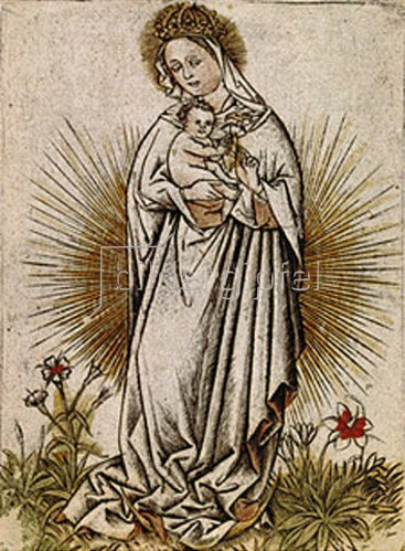 Meister der Weibermacht: Maria mit dem Kind.
