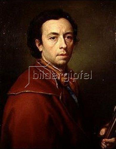 Anton Raphael Mengs: Selbstbildnis 1773.