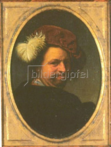 Frans van Mieris d.Ä.: Selbstbildnis.