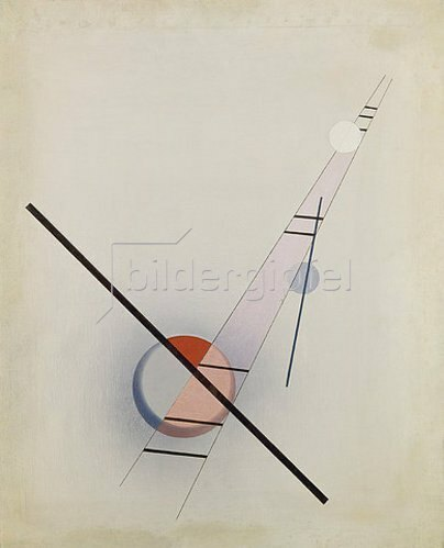 László Moholy-Nagy: Komposition Z IV.