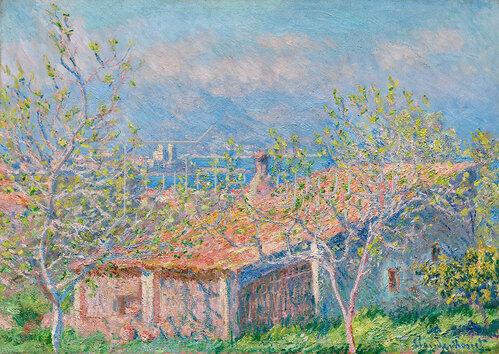 Claude Monet: Das Haus des Gärtners in Antibes, 1888
