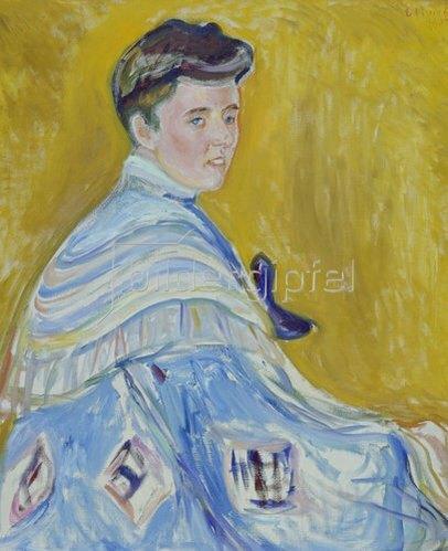 Edvard Munch: Damenbildnis. 1905.