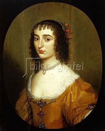 Gerrit van Honthorst: Elisabeth von der Pfalz (1618-1680), Tochter des Winterkönigs Friedrich V.