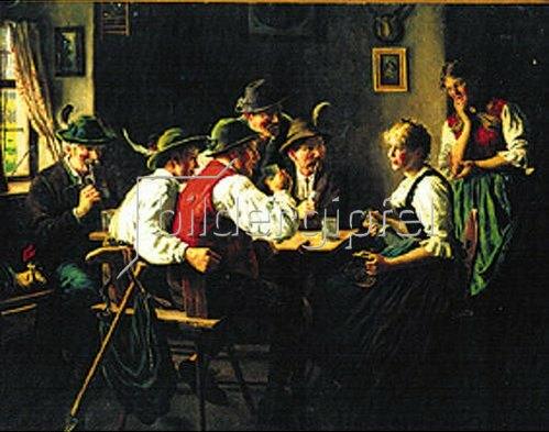 Karl Emil Rau: Lustige Gesellschaft.