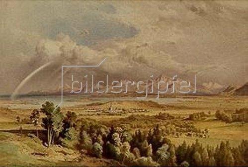 Leopold Rottmann: Prien am Chiemsee.
