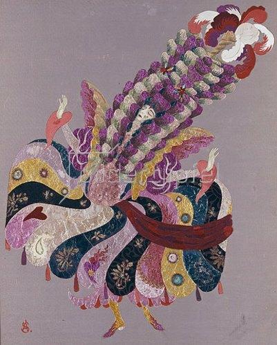 Alexander Sacharoff: Pavane Fantastique. Um 1916/17