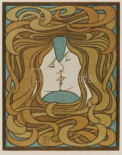 Peter Behrens: Der Kuss. 1898