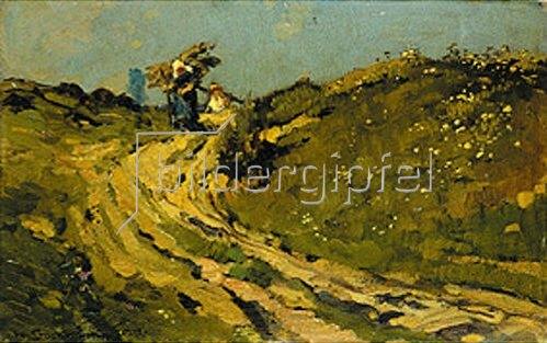Hermann Stockmann: Holzsammler. 1917.