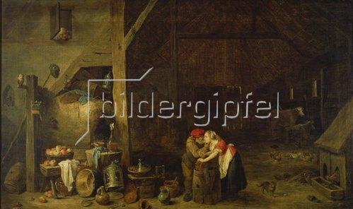 David Teniers: Der Alte und die Magd.