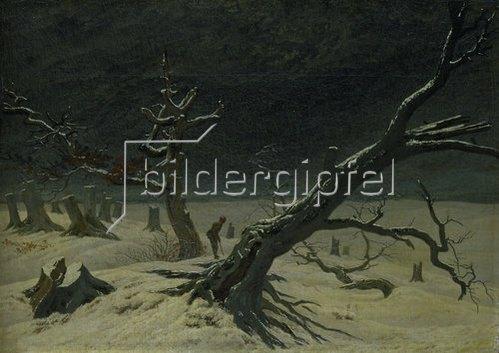 Caspar David Friedrich: Winterlandschaft. 1811