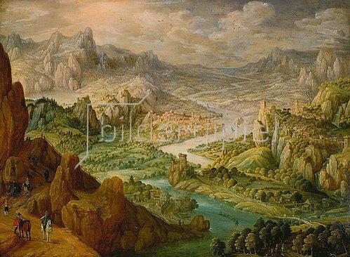 Tobias Verhaecht: Landschaft. 1612