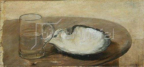 Louis Eysen: Stilleben mit Muschel. 1869