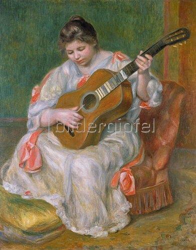 Auguste Renoir: Frau mit Gitarre. 1897