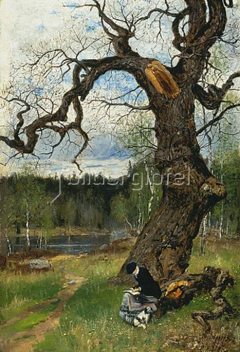 Olof Hermelin: Schwedische Landschaft. 1882