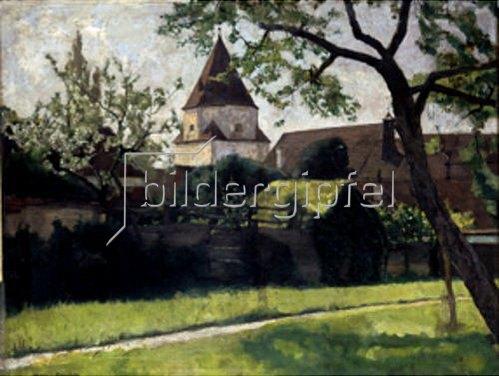 Hermann Groeber: Das untere Tor in Aichach.